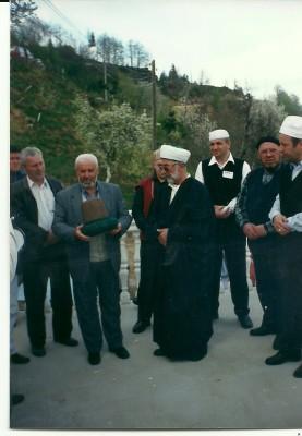 28.04.2002. u Vukeljićima preuzimanje mevleviskog reda